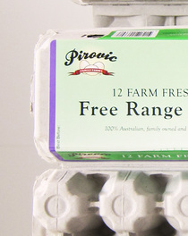 Farm Fresh Free Range Egg Packs