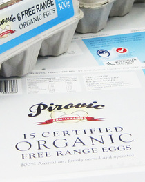 Farm Fresh Organic Egg Packs